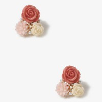 Spring Bloom Cluster Studs | FOREVER 21 - 1000049510