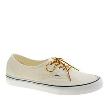 Vans® for J.Crew canvas authentic sneakers - sneakers - Men's shoes - J.Crew
