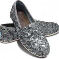 TOMS+ Pewter Sequins Women&#x27;s Classics | TOMS.com