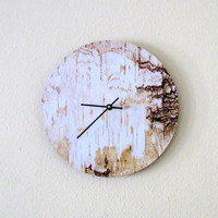 Large Wall Clock, Decor and Housewares, Rustic Wall Clock, Home and Living, Home Decor,  Unique Clock, Unique Gift, Trending