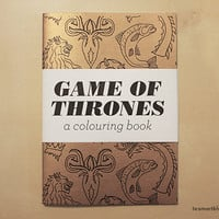 Game of Thrones - A Colouring Book - 5 x 7 in