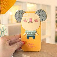 Cute Koala Soft Case for iPhone 4/4S
