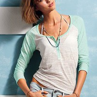 Burnout Baseball Tee - Victoria&#x27;s Secret