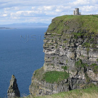 O'Brien's Tower - Cliffs of Moher - 11x14 Print - Photography - Home Decor