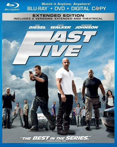 Fast Five (Two-Disc Blu-ray/DVD Combo in Blu-ray Packaging)