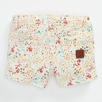 Roxy 'Festival' Colored Denim Shorts (Little Girls) | Nordstrom