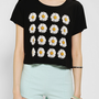 Truly Madly Deeply Daisy Cropped Tee