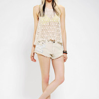 BDG DIY Mia Low &amp; Loose Denim Cutoff Short
