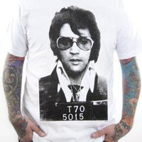 Elvis Presley, T-Shirt, Mug Shot