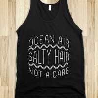 Ocean Air (black) - Possumawesome - Skreened T-shirts, Organic Shirts, Hoodies, Kids Tees, Baby One-Pieces and Tote Bags