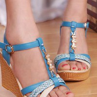 Sirina Wedge  Sandals  from sniksa