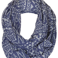 Geo Burnout Snood - Scarves  - Bags &amp; Accessories