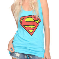 DC Comics Superman Logo Girls Tank Top | Hot Topic