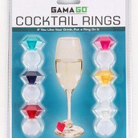 Cocktail Ring Drink Markers