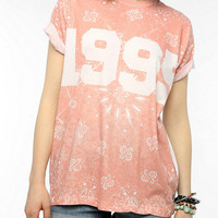 Urban Outfitters - DOE 1995 Sublimated Bandana Tunic Tee