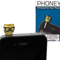 OWL PHONEY PHONE CHARM