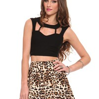 Cage Crop Top - Clothes | GYPSY WARRIOR