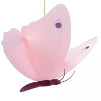 Butterfly Fushia Ceiling Light from The French Talents | Made By R&M COUDERT | £67.40 | Bouf