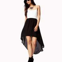 High-Low Combo Dress | FOREVER 21 - 2042820377