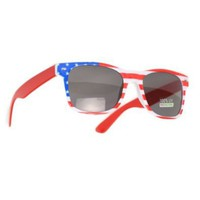 "Amazon.com: ""USA"" American Flag Sunglasses (America): Clothing"