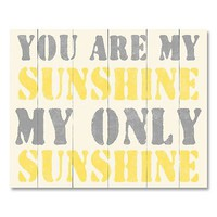 My Only Sunshine Canvas Wall Art by Louise Carey