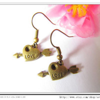 Cute Vintage antique Love and Cupid Arrow fashion by sevenvsxiao