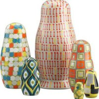 CB2 - russian nesting dolls set of six