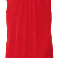 Michael Kors Pleated satin top  59% at THE OUTNET.COM