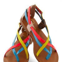 Pleasing to the Island Sandal | Mod Retro Vintage Sandals | ModCloth.com
