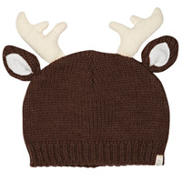 ELEMENT LITTLE DEER BEANIE - BROWN
