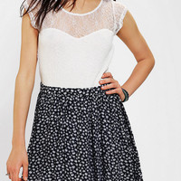 Urban Outfitters - Kimchi Blue Lace-Top Skater Dress
