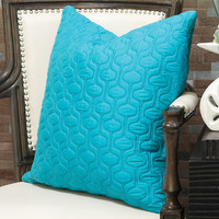 ColorStoryHome | Red Egg, Christopher Jagmin, Sivaana | turquoise bjorn pillow - $150.00 : Color Story Home