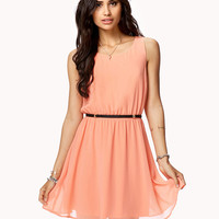Crisscross Back Sleeveless Dress | FOREVER21 - 2050039310