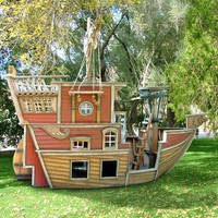 Red Beard's Revenge Pirate Ship Playhouse