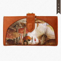 oktoberdee — Porter Purse featuring Mushroom Forest