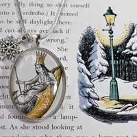 Narnia 'The White Witch' Book Page by PrettyLittleCharmsUK on Etsy