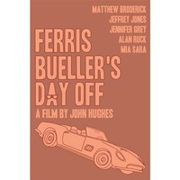 Ferris Bueller's Day Off 12x18 inches poster by claudiavarosio