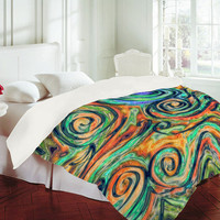 Lisa Argyropoulos Blue Moon Duvet Cover