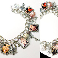 Britney Spears Controversy Charm Bracelet necklace
