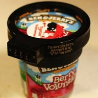 Ben and Jerry's Ice Cream Lock