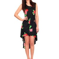 GYPSY WARRIOR - Betsey Floral Hi Low Dress