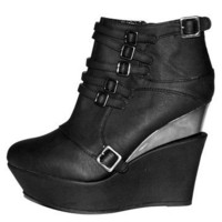 GYPSY WARRIOR - Buckle Strap Bootie