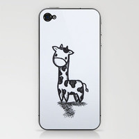 GIRAFFE iPhone & iPod Skin by Kian Krashesky