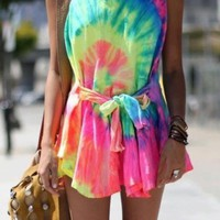 Colorful Tie-Dye Fashions