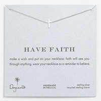 Dogeared 'Reminder - Faith' Pendant Necklace | Nordstrom