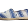 Amazon.com: Toms Womens Canvas Slip On (Navy Umbrella Stripe) 5.5: Shoes