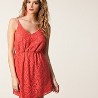 Helene Lace Dress, Jeane Blush