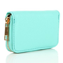 Mint Zipper Card Holder Wallet