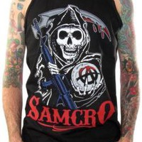 Sons Of Anarchy Tank Top - Bold Reaper