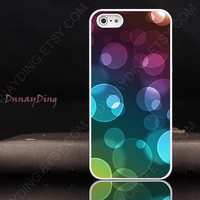 fashion Color Bubble drop design Personalized Covers unique white iphone cases 5 iphone 5 case iphone 5 cover cool iphone cases